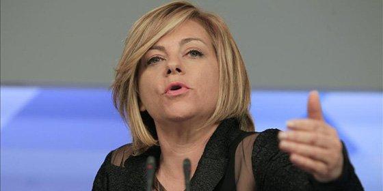 """Elena Valenciano: """"Seguiremos haciendo los congresos del PSOE en hoteles"""""""