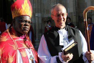 Justin Welby tomó posesión de su cargo de primado anglicano