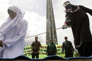 Los islámicos condenan a 100 latigazos a una adolescente violada por su padrastro