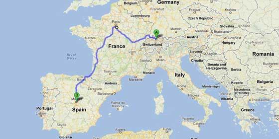 Detenido un español con más de 3.500 billetes de 500 euros en un tren que venía de Suiza