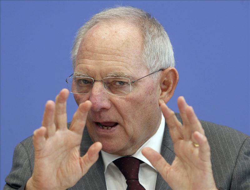 """Schäuble: """"Las críticas de otros países a Alemania son producto de la envidia"""""""