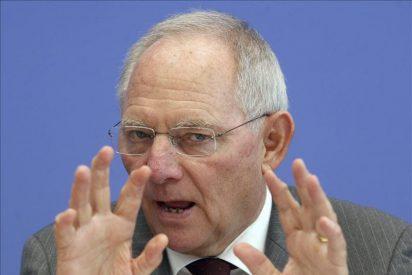 """El alemán Schäuble: """"No me dejo chantajear, por nadie y por nada"""""""