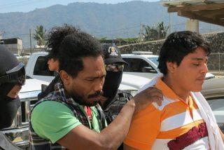 Los seis violadores de las españolas en Acapulco ingresan en prisión