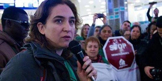"""La plataforma de Colau """"aumentará"""" su campaña de acoso a cargos del PP"""