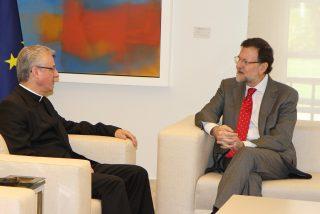 Rajoy se reúne con el arzobispo de Urgell, copríncipe de Andorra