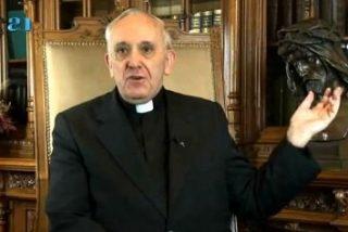 El mensaje de Pascua que grabó Bergoglio antes de ser Papa