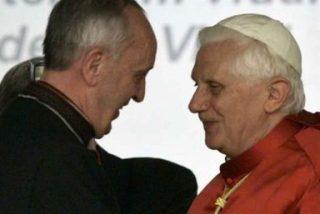 Francisco habla con Benedicto