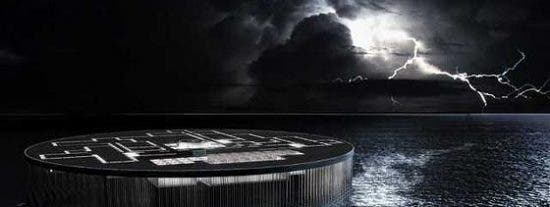 La nueva 'Alcatraz': una prisión enorme en medio del océano