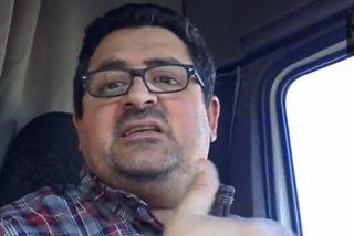 """El justiciero sobre ruedas a los políticos: """"Se me hinchan los cojones y me ahogáis cada vez que subo al camión"""""""