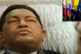El ataúd paseado por Caracas no contenía el cadáver de Hugo Chávez
