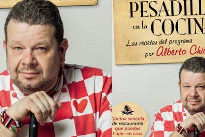 Alberto Chicote hace gala de sus dotes culinarias en un libro que recopila las recetas de sus platos más televivos