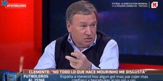 """Clemente: """"Me hubiera gustado que este grupete de Telecinco, hubiera apoyado a mi selección"""""""
