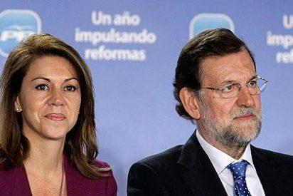 Rajoy: 'Cospedal es una mujer excepcional; es una magnífico ejemplo a seguir'