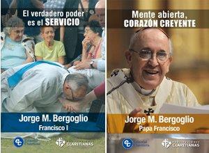 Publicaciones Claretianas saca a la venta dos libros del nuevo Papa
