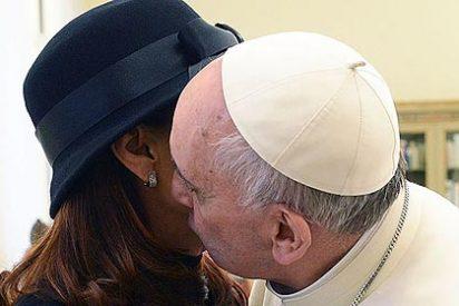 """Cristina Fernández de Kirchner: """"Nunca un papa me había besado"""""""