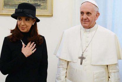 """Cristina Kirchner: """"Me invadió una tranquilidad perfecta junto al Papa"""""""