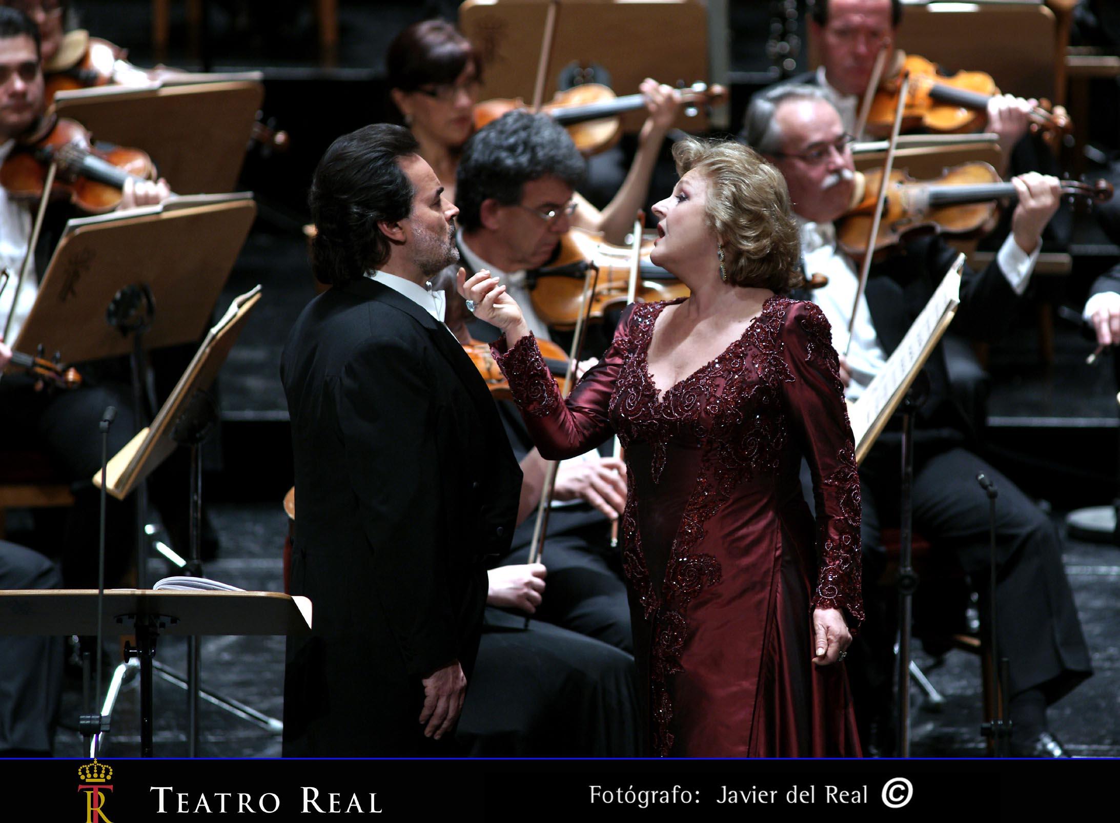 Al público del Teatro Real lo que más le gusta es el 'belcanto'
