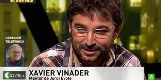 'laSexta Noche' rescata a Xavier Vinader, presentándolo como mentor de Évole