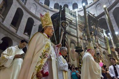 El Patriarca Latino de Jerusalén invita al papa a visitar Tierra Santa