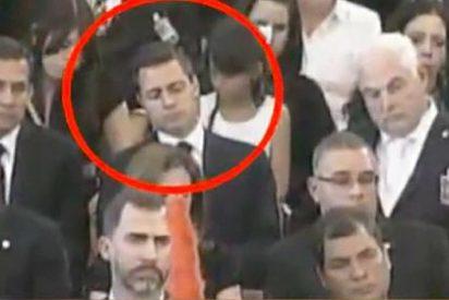 El presidente de México se quedó dormido durante el funeral de Hugo Chávez
