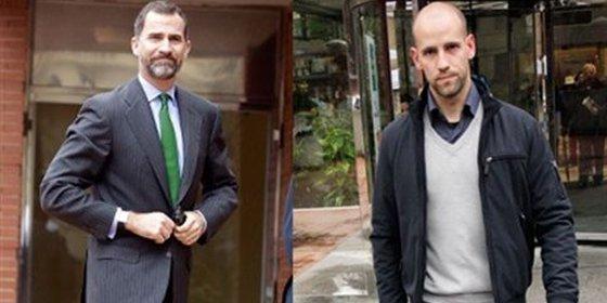 Sorprendente visita de Gonzalo Miró al Rey