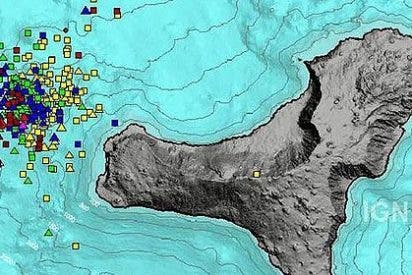 La isla de El Hierro sufre un terremoto de 4,7 grados en la escala Richter