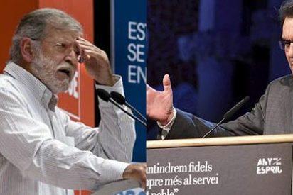 Rodríguez Ibarra compara a Artur Mas con Hitler y en Cataluña les da un 'ataque nervios'