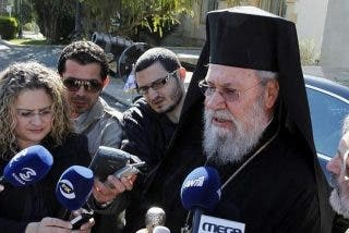 La iglesia ortodoxa de Chipre ofrece hipotecar todos sus bienes para salvar el país
