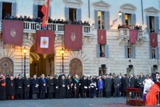 Cena en la embajada española antes de la entronización