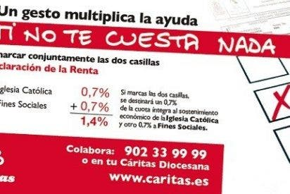 "Cáritas pide marcar ""la doble X"""