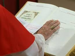 """""""Eligo in Summum Pontificem..."""""""