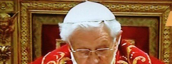 Disyuntivas de Benedicto y Cónclave entre dos aguas