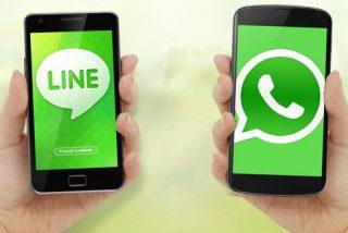 A Whatsapp le sale un duro competidor: Line, el servicio de mensajería nacido en Japón