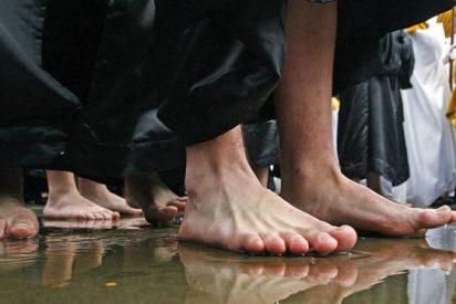 La lluvia se ceba con la mayor parte de las procesiones del Viernes Santo