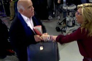 Terror en 'Sálvame': Lydia Lozano es perseguida y agredida en directo por un invitado furioso