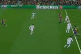 Leo Messi estaba en fuera de juego en el segundo gol del Barça al Milan