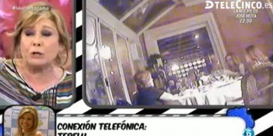 'Sálvame' deja al descubierto la intimidad de sus colaboradores y les graba fuera del programa durante una cena brutal