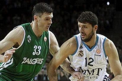 EuroLeague / Zalgiris-Real Madrid: Mirotic se corona en Kaunas (104-105)