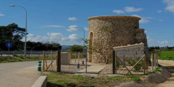 El Consell de Mallorca termina de 'lavarle la cara' al viejo molino de Can Pep de Mel