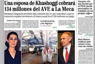 Todos 'peregrinan' a La Meca pero a dar pelotazos millonarios con el AVE islámico