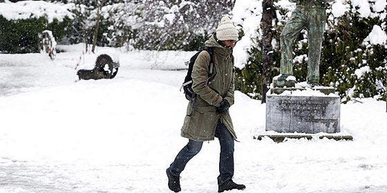 El martes 12 marzo 2013 llega un frente escandinavo de frío y nieve