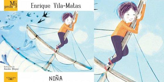 Enrique Vila-Matas se enfrenta con su nueva obra al público más exigente, los niños