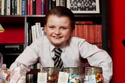 El 'tiburón de los negocios' más joven del mundo: tiene 9 años y 3 empresas