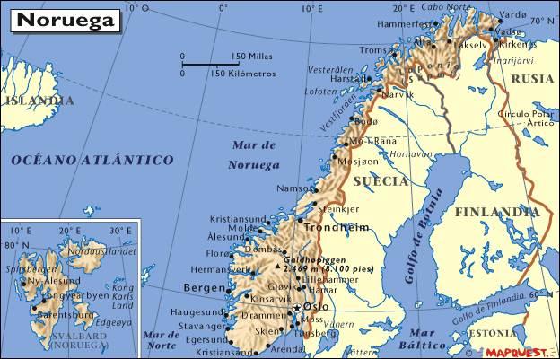 Noruega, el país con mayor calidad de vida, Níger, el peor y España no está ni entre los veinte primeros