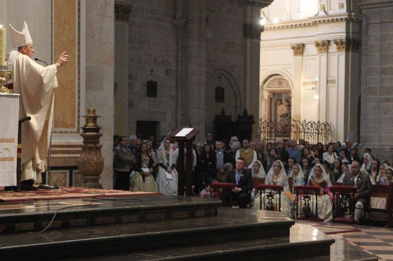 """""""Misa breve de Fallas"""" por la festividad de San José en Valencia"""