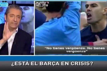 """Josep Pedrerol: """"La gente que estuvo en el Bernabéu vio a Messi pasearse de una manera irreconocible"""""""