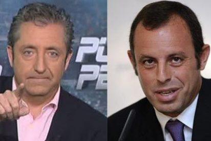Pedrerol machaca a Sandro Rosell por promover la vuelta de los violentos al Camp Nou y Sport, en su línea, justifica al presidente del Barça