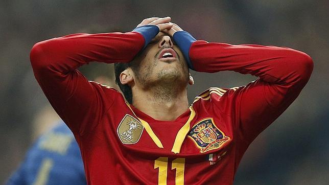 Pedro sufre una rotura fibrilar en el gemelo con la Selección y estará 10 días de baja