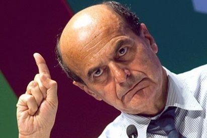 Pier Luigi Bersani descarta la idea de una gran coalición con Silvio Berlusconi