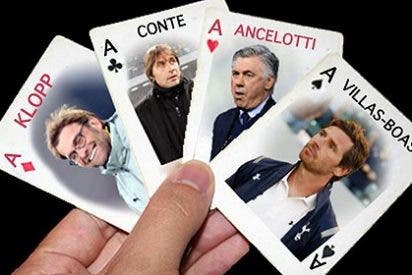 El póquer de Florentino para sustituir a Mourinho como entrenador del Real Madrid